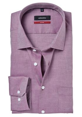 Seidensticker Modern Fit overhemd, paars