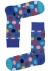 Happy Socks sokken Big Dot Sock, kobaltblauw met stip