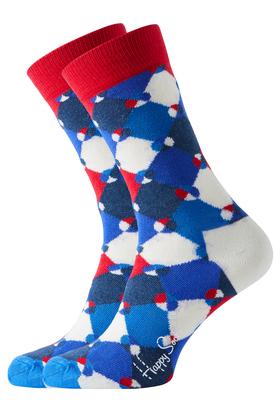 Happy Socks sokken Diamond Dot Sock donkerblauw