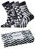 Happy Socks herensokken, Black White Gift Box