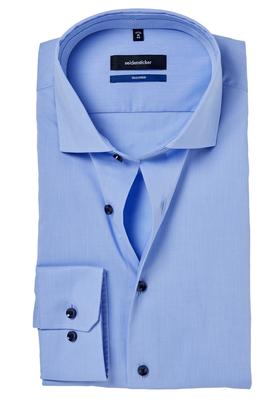 Seidensticker Tailored Fit, lichtblauw (gestipt contrast)