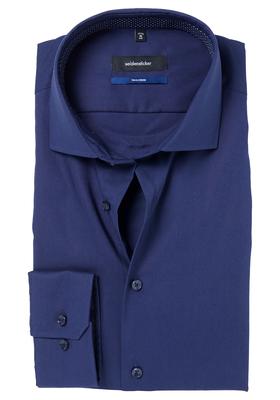 Seidensticker Tailored Fit, donkerblauw (gestipt contrast)