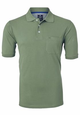 Redmond Regular Fit poloshirt, army groen