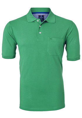 Redmond Regular Fit poloshirt, groen