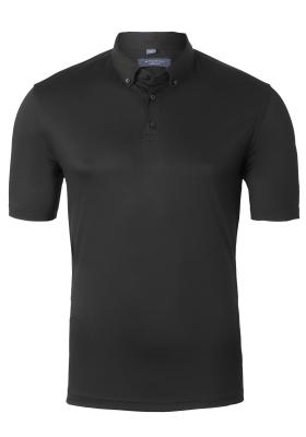 Eterna Modern Fit poloshirt, Eterna Modern Fit poloshirt, zwart jersey (contrast)