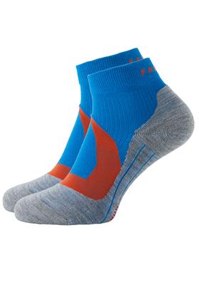 FALKE RU4 Cool heren korte hardloopsokken, blauw