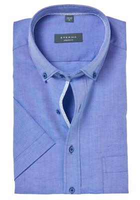 ETERNA Modern Fit overhemd, korte mouw, lightweight lichtblauw (contrast)