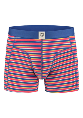 A-dam boxershort Ernie, rood, geel blauw gestreept