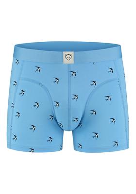 A-dam boxershort Glenn, blauw met zwaluw