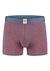 A-dam boxershort Govert, rookblauw met rode vissen