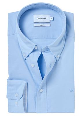 Calvin Klein Sportswear overhemd (Galdo), lichtblauw button-down washed Oxford
