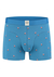 A-dam boxershort klaas, blauw met vleermuis