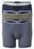 Armani Boxers (3-pack), grijs, groen, blauw