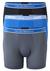 Armani Boxers (3-pack), zwart, kobalt, grijs