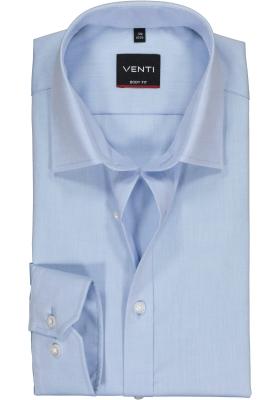 VENTI body fit overhemd, lichtblauw