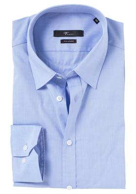 Venti Body Fit overhemd, licht blauw