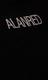 Alan Red Stretch T-shirts, 2-pack No Neck O-hals, zwart