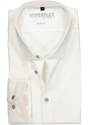 Venti Body Fit overhemd super stretch, wit