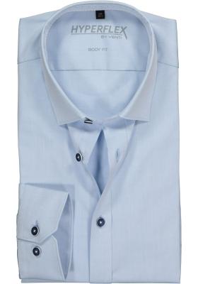 Venti Body Fit overhemd super stretch, lichtblauw