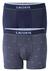 Lacoste Trunks kort model (2-pack), blauw en print