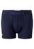 Lacoste Trunks kort model, 2-pack donker- en kobaltblauw