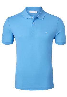 Calvin Klein Fitted Polo (Jacob), lichtblauw