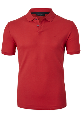 Calvin Klein Fitted Polo (Jacob), rood