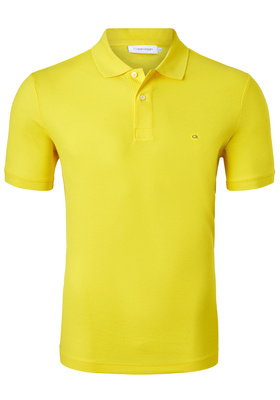 Calvin Klein Fitted Polo (Jacob), geel