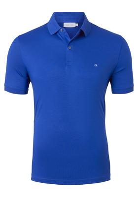 Calvin Klein Nathan soft interlock chest, kobalt blauw