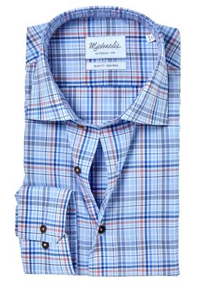 Michaelis Slim Fit overhemd, geruit