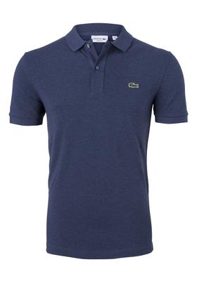Lacoste Classic Fit polo, jeansblauw melange