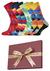Happy Socks cadeauset, 4-pack Feest cadeau