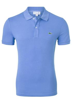 Lacoste Slim Fit polo, korenbloem blauw