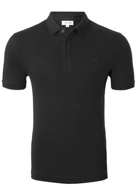 Lacoste stretch Regular Fit polo, zwart
