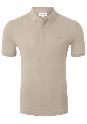 Lacoste stretch Regular Fit polo, beige
