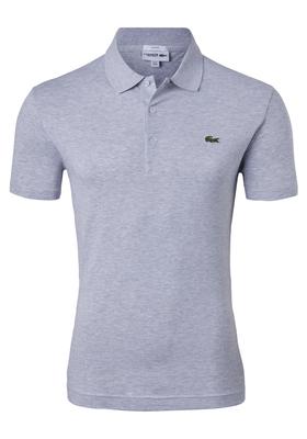 Lacoste Sport polo slim fit, ultra lightweight knit, lichtgrijs melange