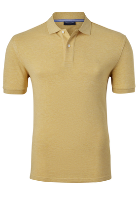 Profuomo Slim Fit polo, geel
