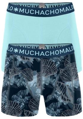 Muchachomalo boxershorts, 2-pack, Printed Coral