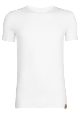 RJ Bodywear The Good Life T-shirts (2-pack), slim fit heren T-shirts O-hals, wit