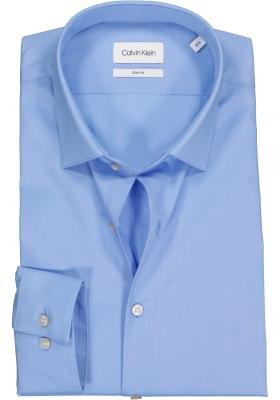 Calvin Klein slim fit overhemd, 2-ply stretch, light blue