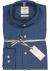 OLYMP Level 5 Smart Business, Body Fit overhemd, blauw Prince de Galles ruitje
