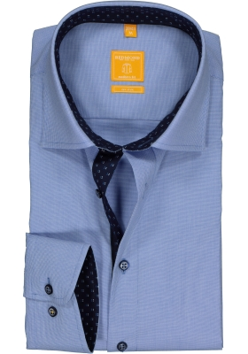 Redmond Modern Fit overhemd, lichtblauw (contrast)