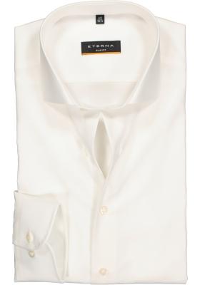 Eterna Slim Fit overhemd, super lange arm, beige