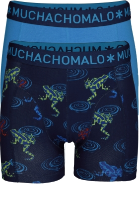 Muchachomalo boxershorts, 2-pack, Frogs