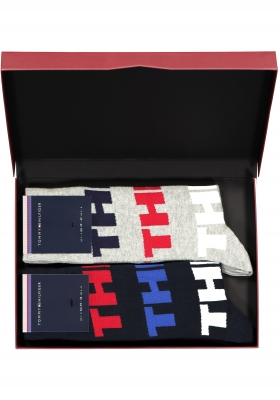 Cadeaubox: 2 paar Tommy Hilfiger sokken NY