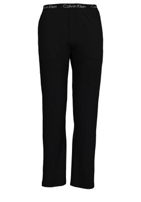 Calvin Klein Sleep Cotton, zwarte lounge broek
