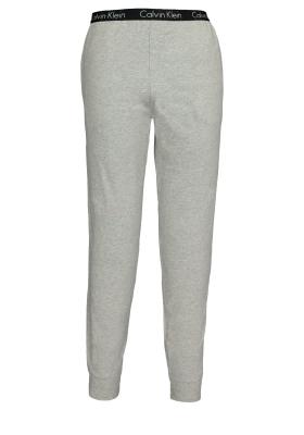 Calvin Klein Sleep Cotton, grijze lounge broek