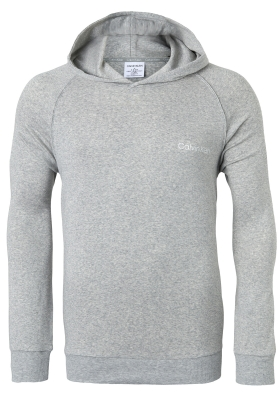 Calvin Klein Cotton Modal Lounge Hoodie, grijs melange