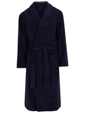 Calvin Klein heren badjas, badstof, blauw