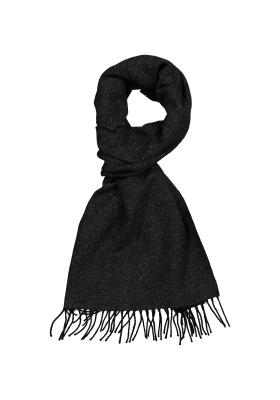 Profuomo heren sjaal, antraciet tweed